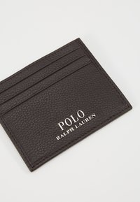 Polo Ralph Lauren - LOGO CARD CASE - Business card holder - dark brown - 2