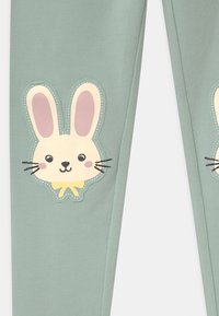 Lindex - RABBIT - Leggings - Trousers - light dusty turquoise - 2