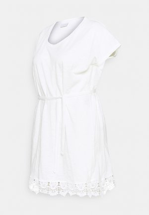 MLALETTA TUNIC - Jersey dress - snow white