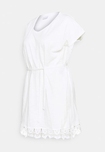 MLALETTA - Žerzejové šaty - snow white