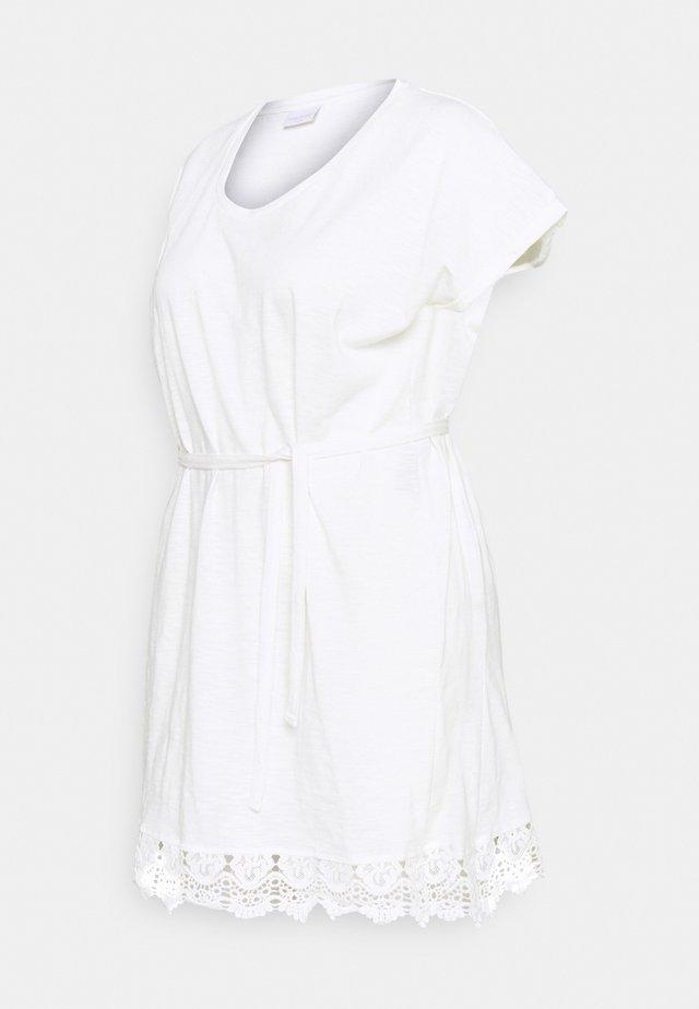 MLALETTA TUNIC - Žerzejové šaty - snow white