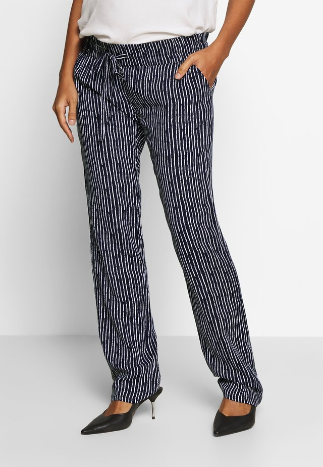 PANTS CAITLIN - Pantalon classique - night sky