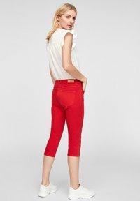 s.Oliver - Denim shorts - red - 2
