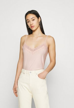 VMMILLA SINGLET - Top - sepia rose