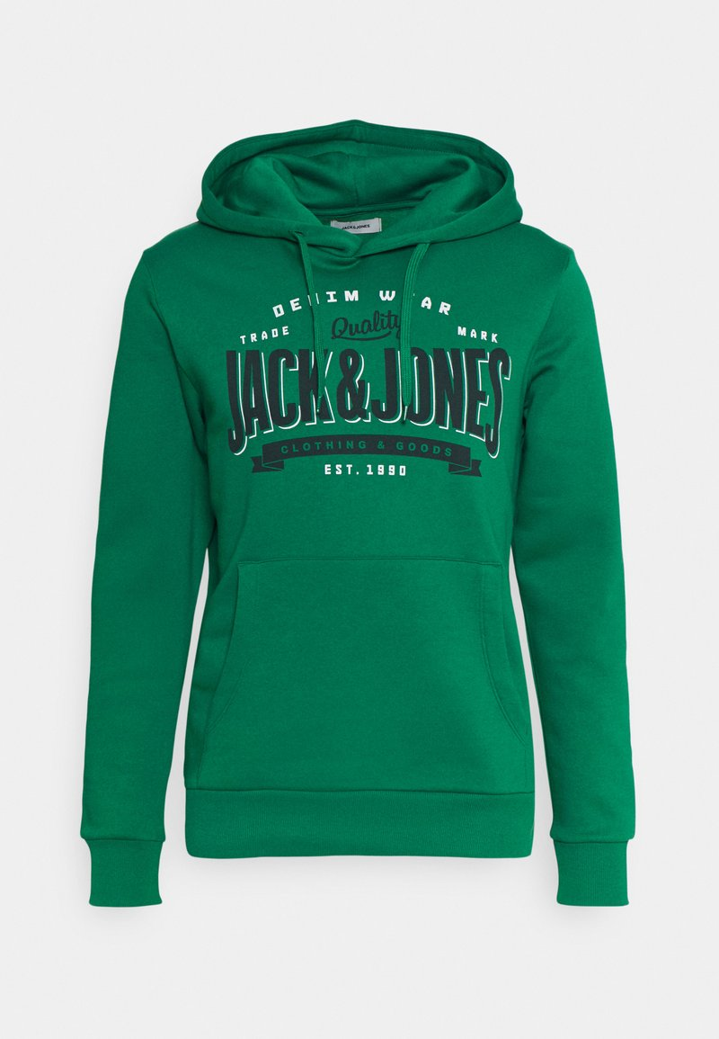 Jack & Jones - Bluza z kapturem - verdant green