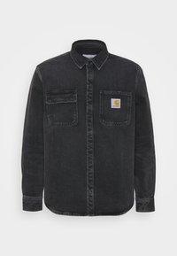 Carhartt WIP - SALINAC JAC MAITLAND - Camicia - black middle worn wash - 4