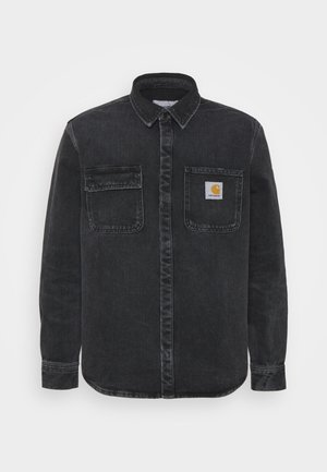 SALINAC JAC MAITLAND - Camisa - black middle worn wash