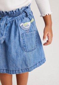 Next - Denim skirt - light-blue denim - 2