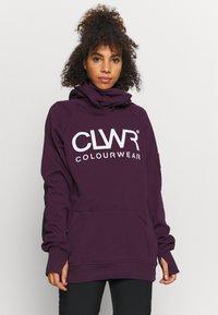 COLOURWEAR - BOWL HOOD - Sweatshirt - deep red - 0