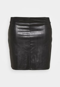 Pieces Curve - PCDEVORA SKIRT - Pencil skirt - black - 3