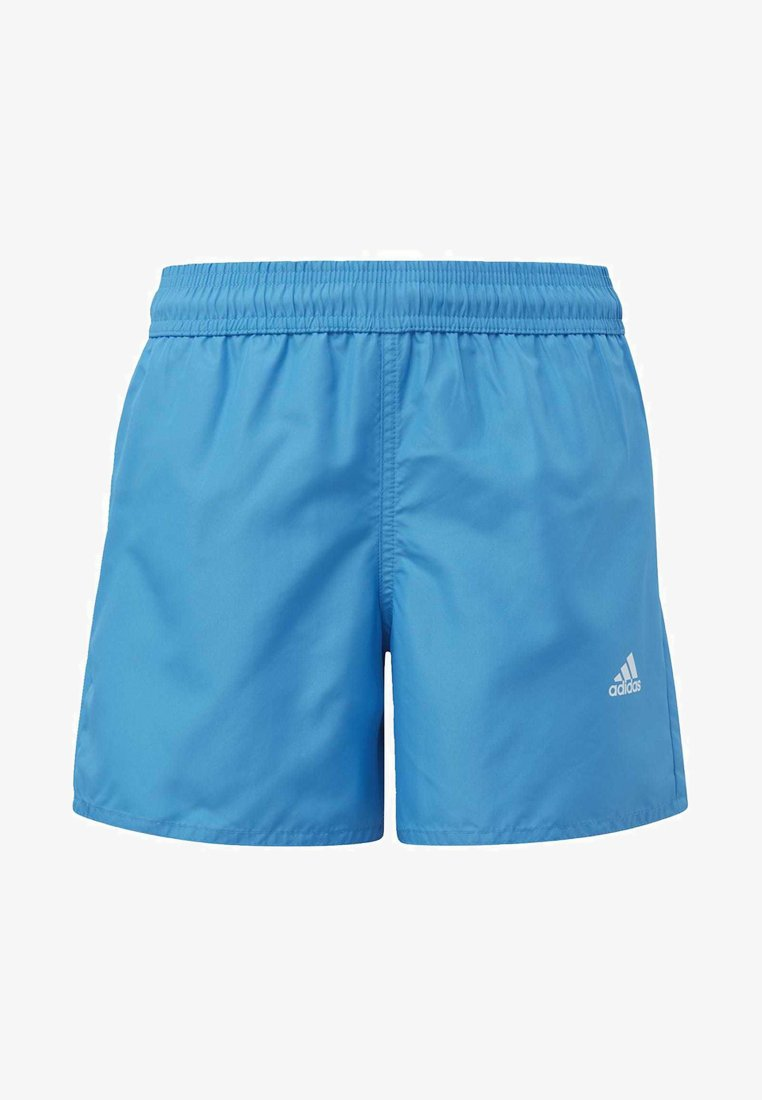 adidas Performance - BADGE OF SPORT PRIMEGREEN REGULAR SWIM SHORTS - Swimming shorts - blue