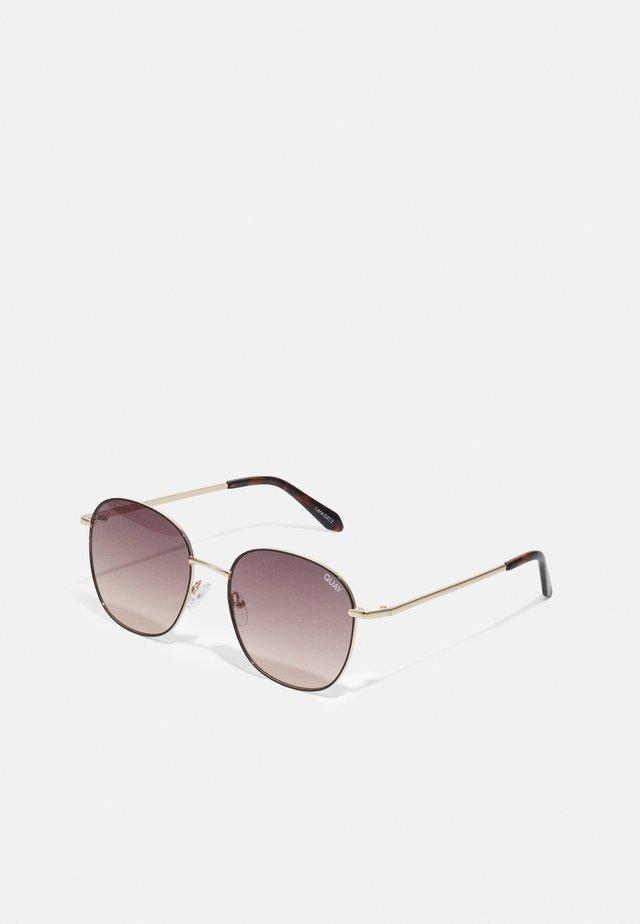 JEZABELL - Sunglasses - black/brown/orange