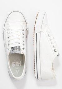 H.I.S - Sneakersy niskie - white - 3