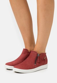 ECCO - SOFT  - Sneakers basse - red - 0