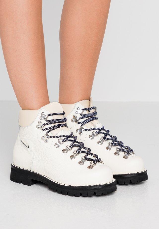 Lace-up ankle boots - algeri/ecru