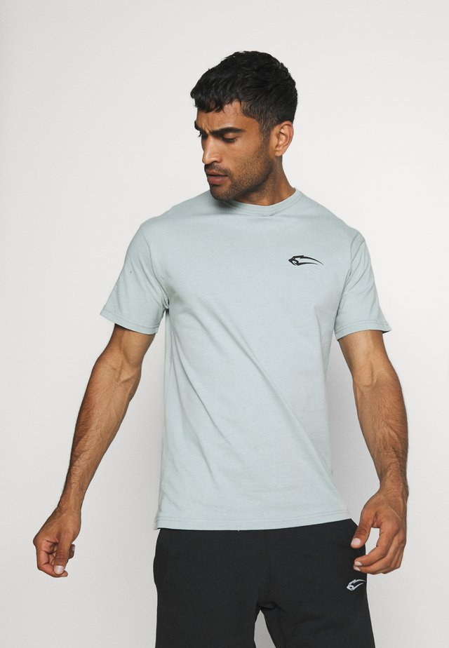 REGULAR FIT BASE - T-shirt basic - blau