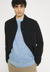 Selected Homme - SLHBUDDY CREW NECK - Jumper - skyway - 3