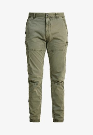 SURPLUS GOODS AVIATOR PANT - Cargo trousers - sage
