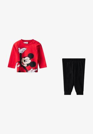 MICKEY MOUSE SET - Pyjama - red