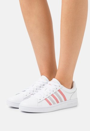 COURT WINSTON - Sneakers laag - white/flamingo pink/lunar rock