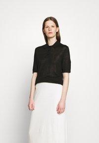 Filippa K - ANGELINE - Polo shirt - black - 0