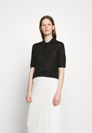 ANGELINE - Polo shirt - black