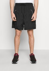Nike Performance - THROWBACK SHORT NARRATIVE - Sports shorts - black - 0