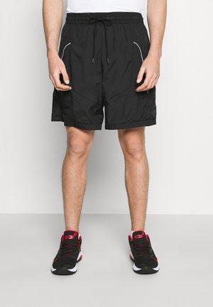 THROWBACK SHORT NARRATIVE - Sports shorts - black