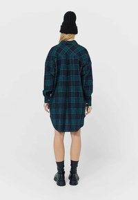 Stradivarius - Shirt dress - dark blue - 2
