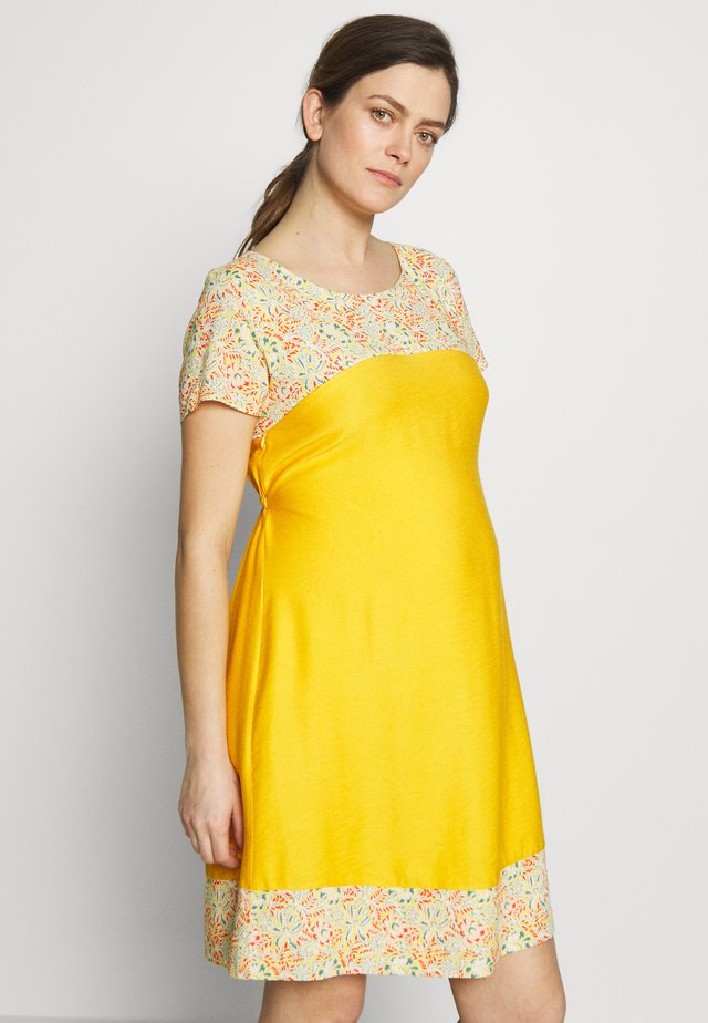 BETTINA - Day dress - jaune