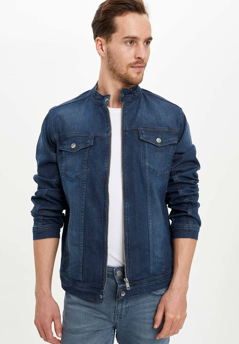 DeFacto - Denim jacket - indigo