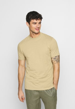 UNISEX - T-shirts - beige