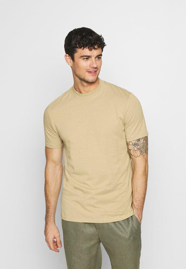 UNISEX - T-shirt basique - beige