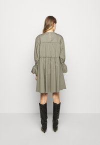 Mykke Hofmann - Day dress - dust green - 2