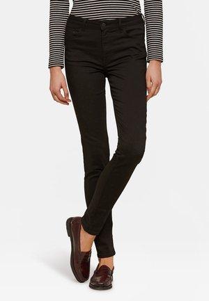 WE FASHION DAMES MID RISE SKINNY HIGH STRETCH BROEK - Skinny džíny - black