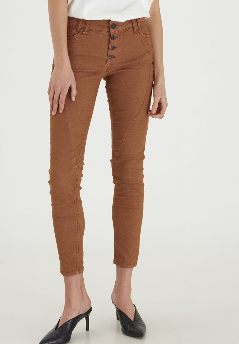 PULZ - PZROSITA - Jeans Skinny Fit - argan oil