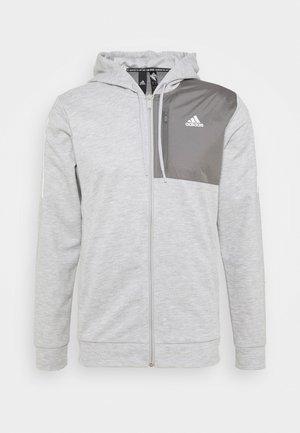 AERO  - Zip-up hoodie - medium grey heather