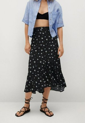 DANIELA - A-line skirt - zwart