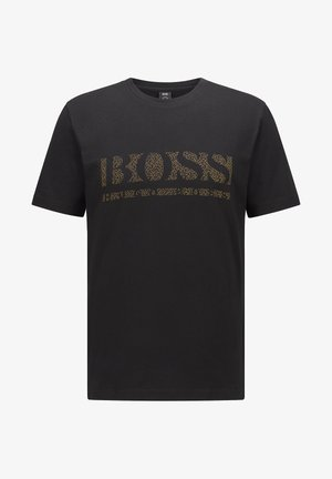 TEE PIXEL  - Print T-shirt - black