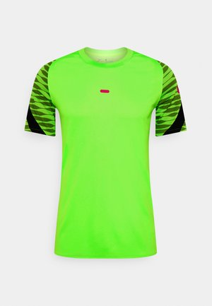 DRY STRIKE 21 - T-shirt print - green strike/black/siren red