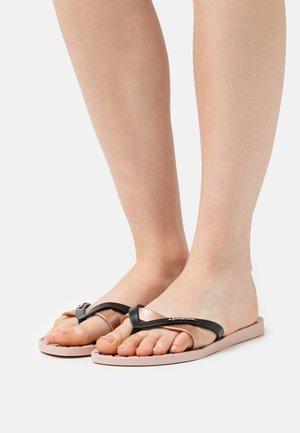 KIREI - Pool shoes - pink/black