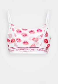 Calvin Klein Underwear - LAYERED LIPS UNLINED BRALETTE - Bustier - red gala - 6