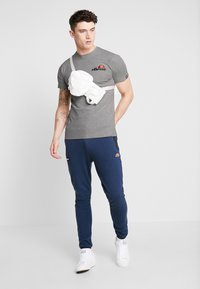 Ellesse - VOODOO - Print T-shirt - grey marl - 1
