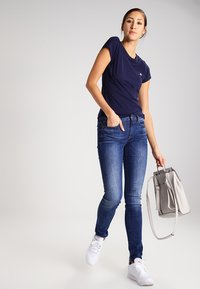 G-Star - EYBEN SLIM - T-shirt basique - sartho blue - 1