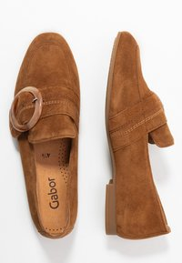 Gabor - Slip-ons - cognac - 3