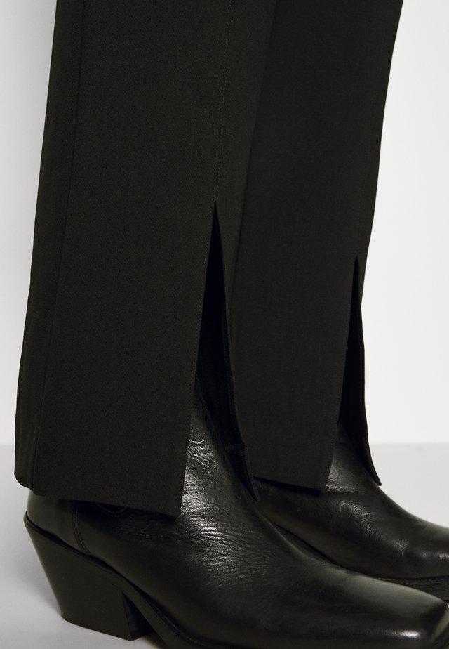 MARION TROUSERS  - Pantaloni - black
