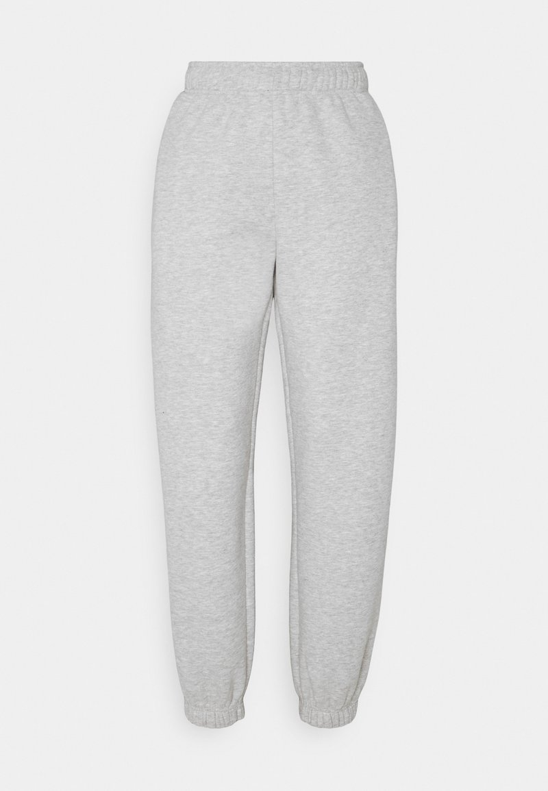 Weekday - SOFT SPORT CORINNA PANTS - Tracksuit bottoms - grey melange