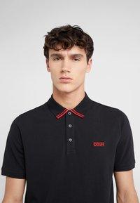 HUGO - DYLER - Polo shirt - black - 4