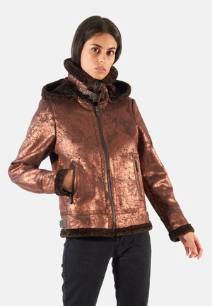 GLORIA - Veste d'hiver - bronze