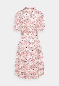 Fabienne Chapot - MILA DRESS - Shirt dress - white/pink - 6